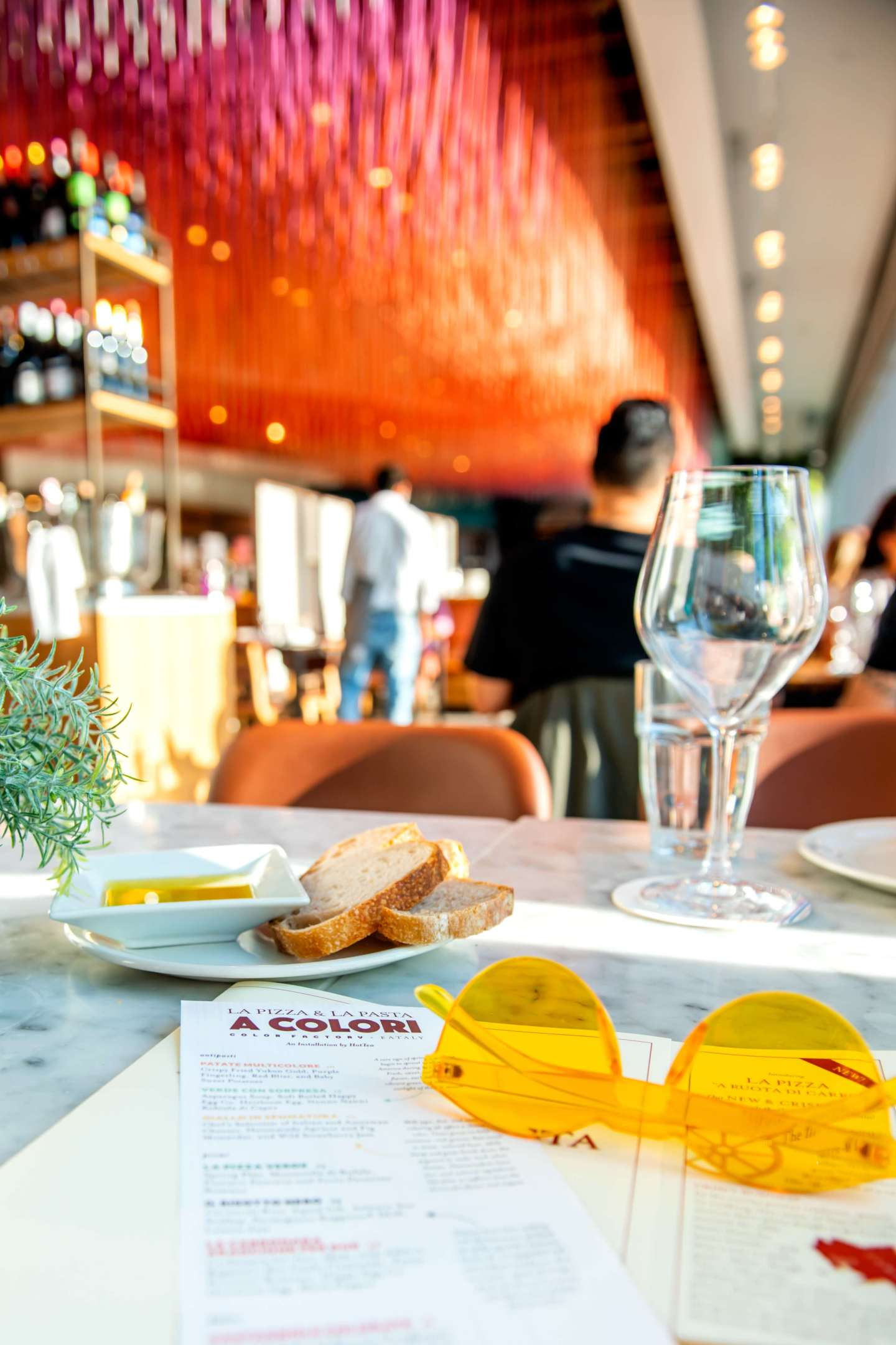 Eataly Downtown - A Colori - Menu, Eataly and Color Factory