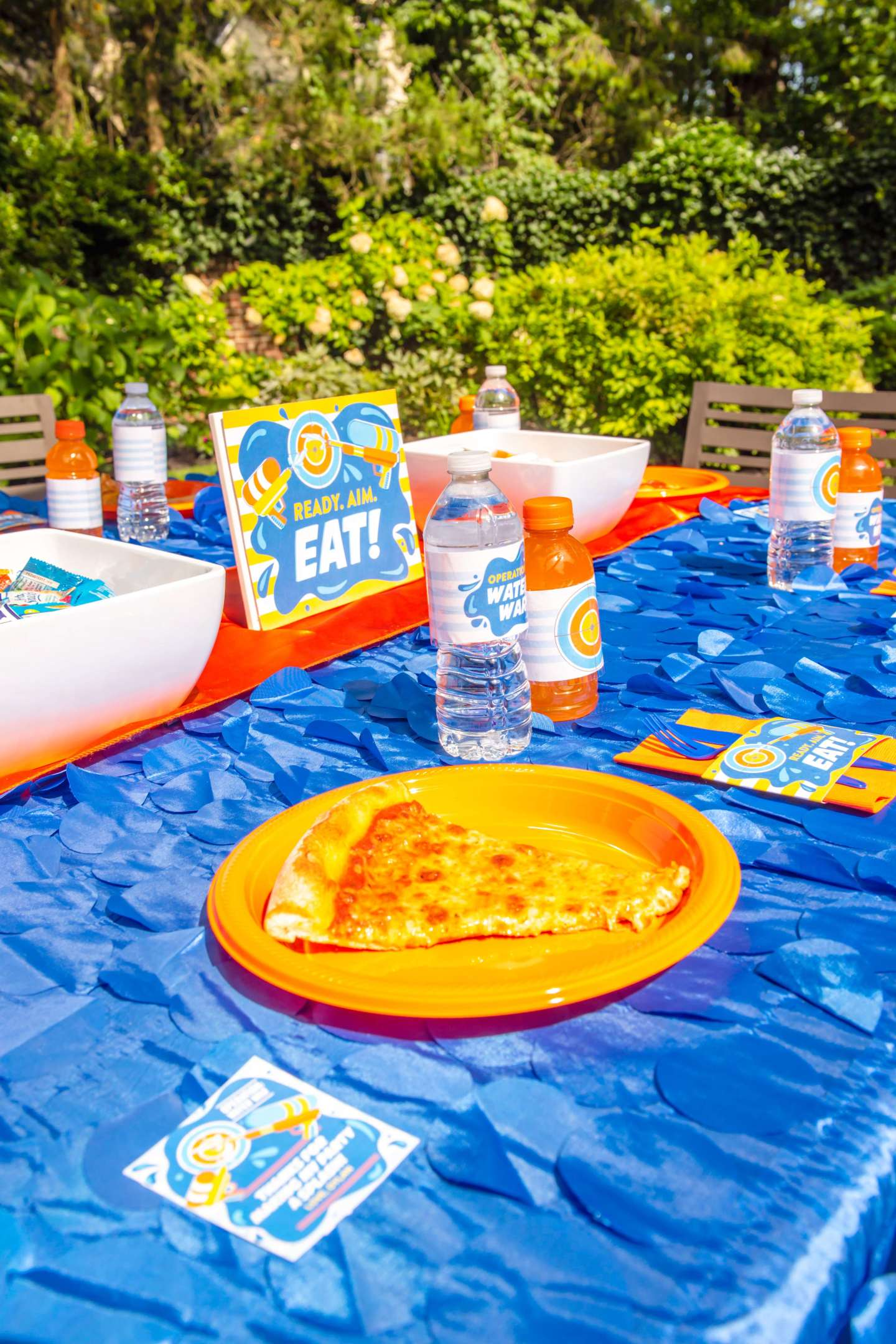 Water Wars – Pizza