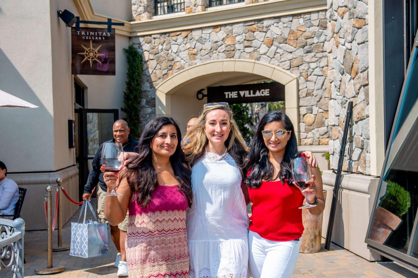 Women at Trinitas Wine Tasting