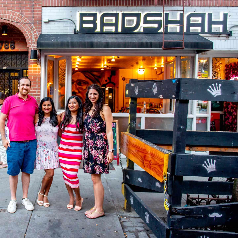 Badshah Friends. Best Indian Restaurants in Hell's Kitchen. Badshah.