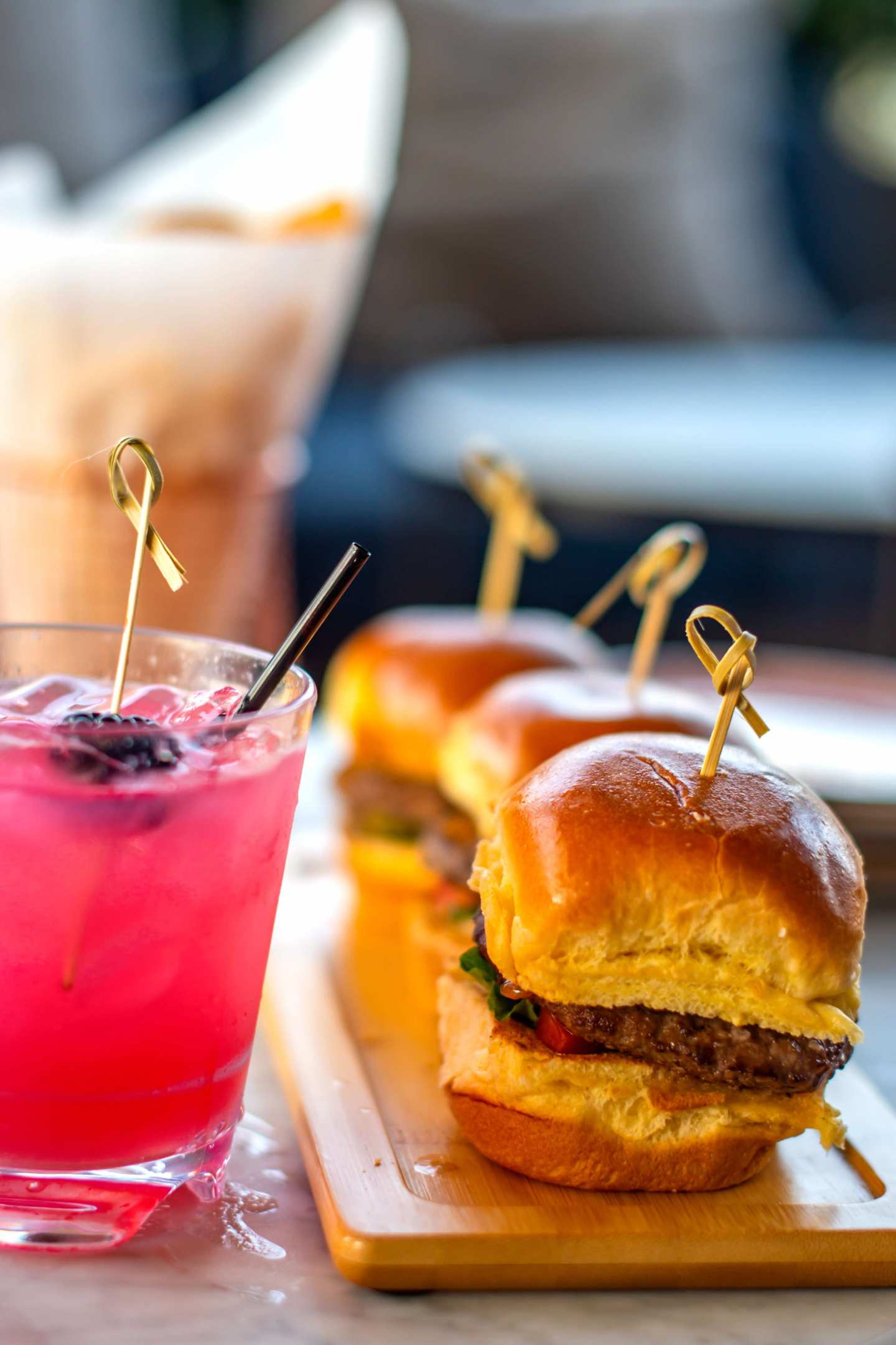 Somewhere Nowhere Cocktails, Fries and Sliders. Best Rooftops in Chelsea.