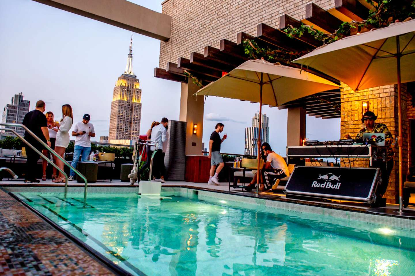 Somewhere Nowhere Rooftop Pool. Best Rooftops in Chelsea.