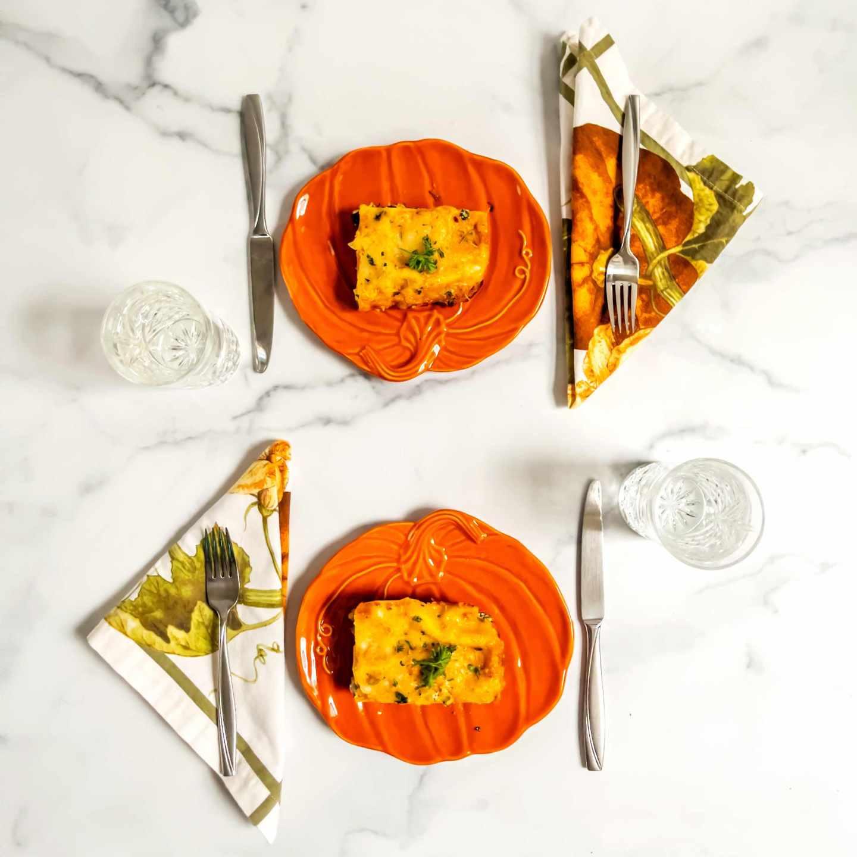 Turkey and Butternut Squash Lasagna