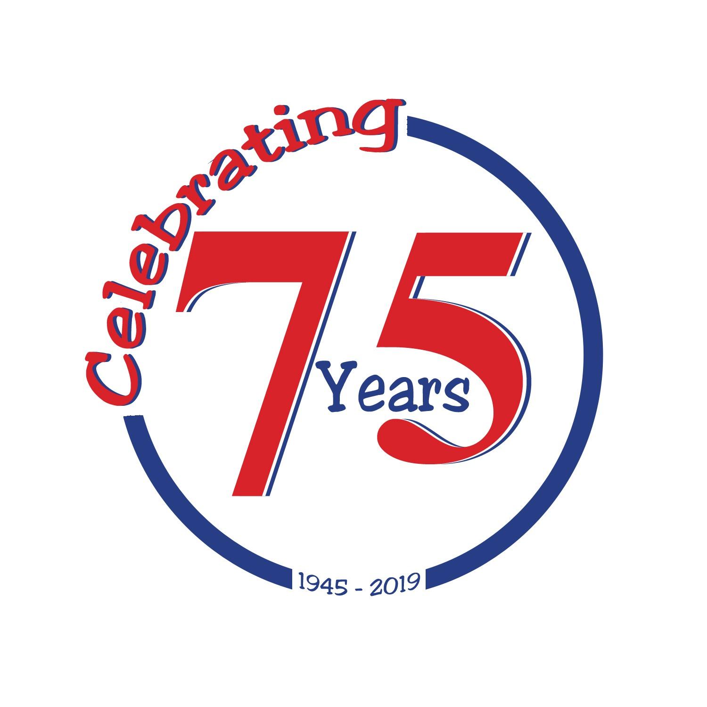 Celebrating 75 Years icon