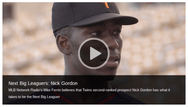 Next Big Leaguers - Nick Gordon