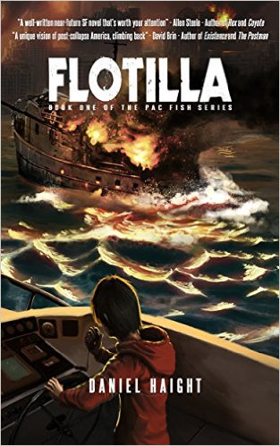 Cover art for Daniel Haight's Flotilla (The Pac Fish Series Book 1