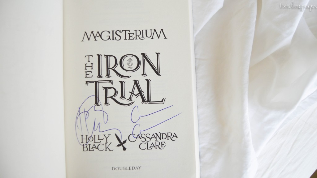 the iron trial cassandra clare holly black
