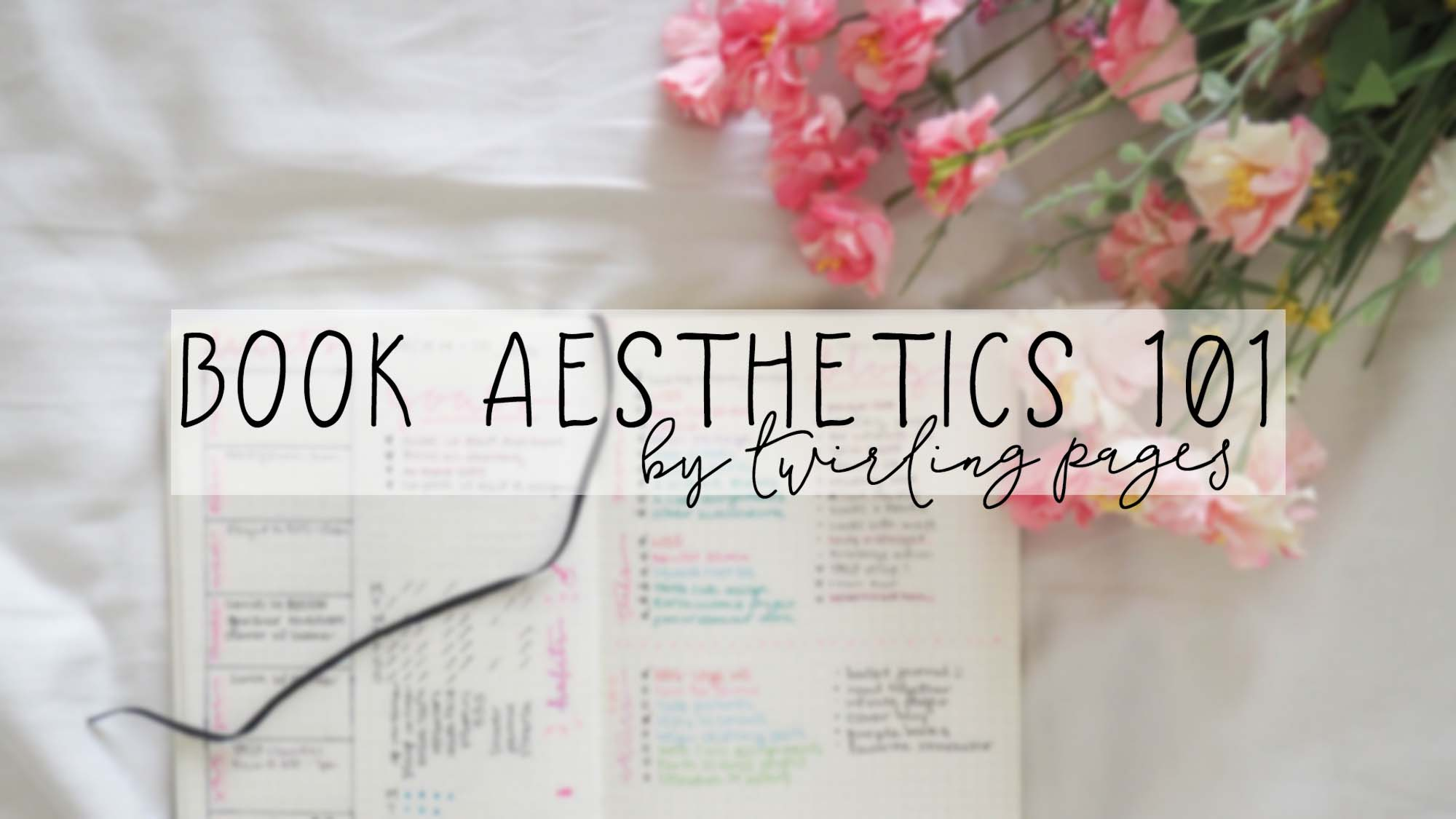 book aesthetics 101