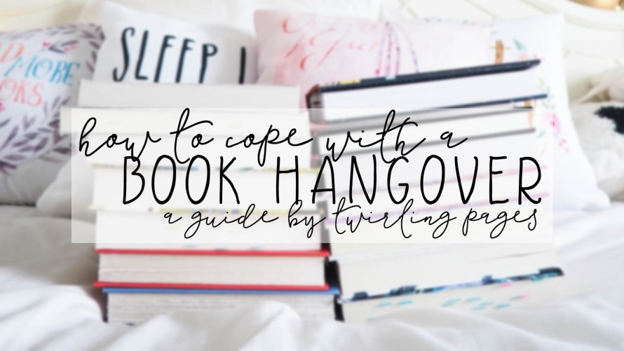 how to cope with a book hangover