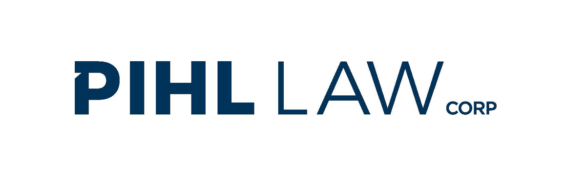Phil Law Corp logo in dark blue
