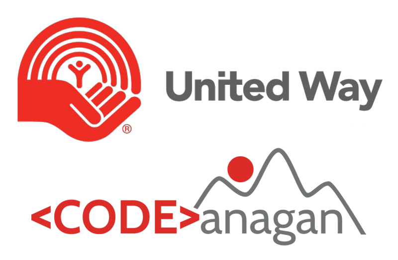 United Way CODEanagan Logo