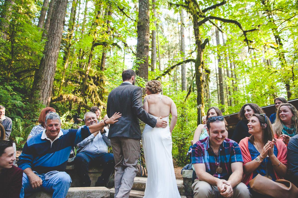 Lesley + Jordan's Camp Namanu Wedding
