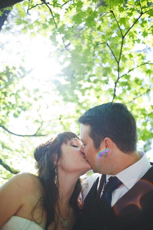 Ashley + Ian's Hoyt Arboretum Wedding