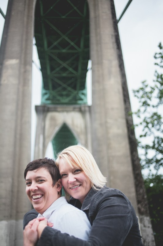 Kathleen + Kate at Cathedral Park