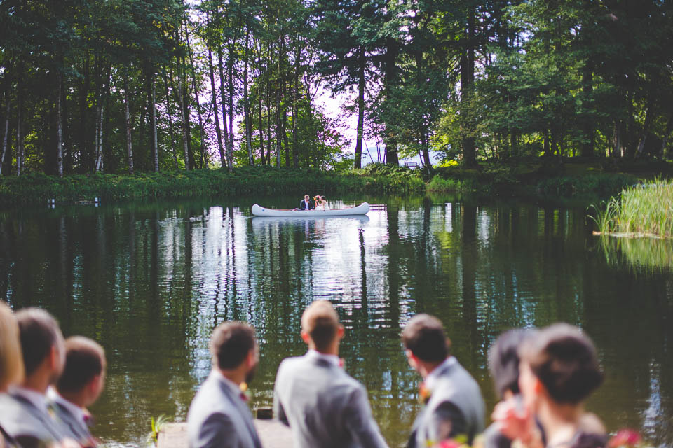 Melanie + Andrew's Bridal Veil Lakes Wedding