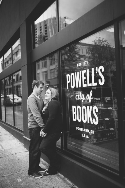 Calley + Ken at Powell's Bookstore