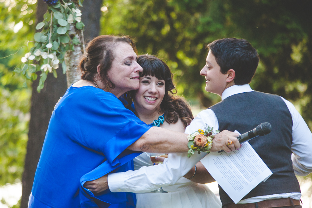 Dani and Rachel's Crystal Springs Rhododendron Garden Wedding