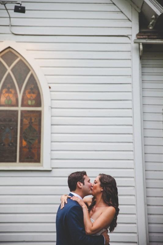 Amiee + Garin's Oaks Pioneer Church Wedding