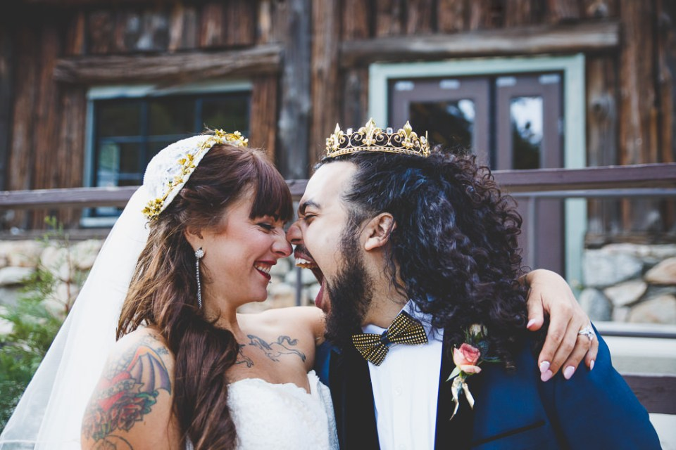 Shannon + Cyrus's Camp Seely California Mountain Wedding