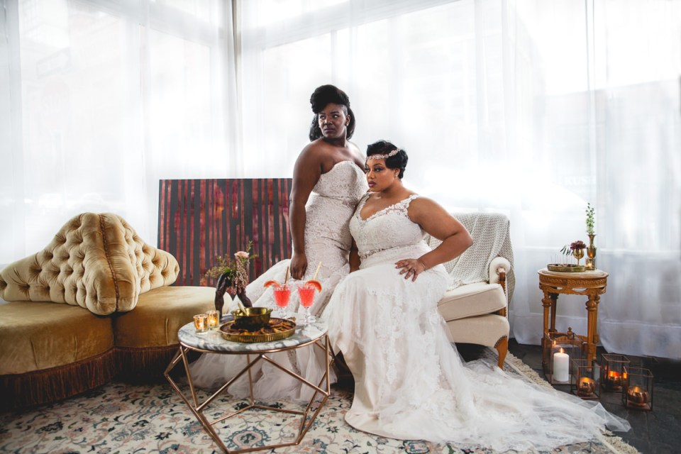 Women of Color Get Married Too….