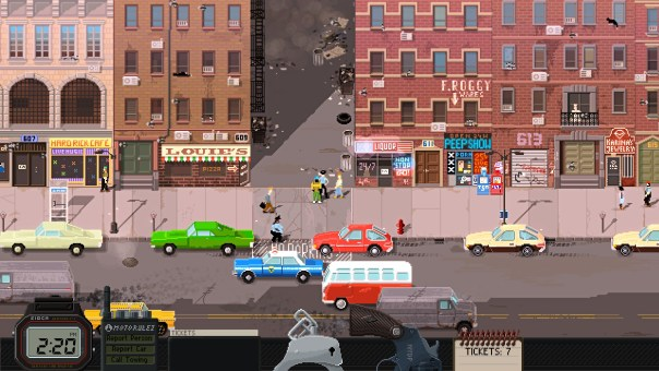 beat cop gameplay screenshot