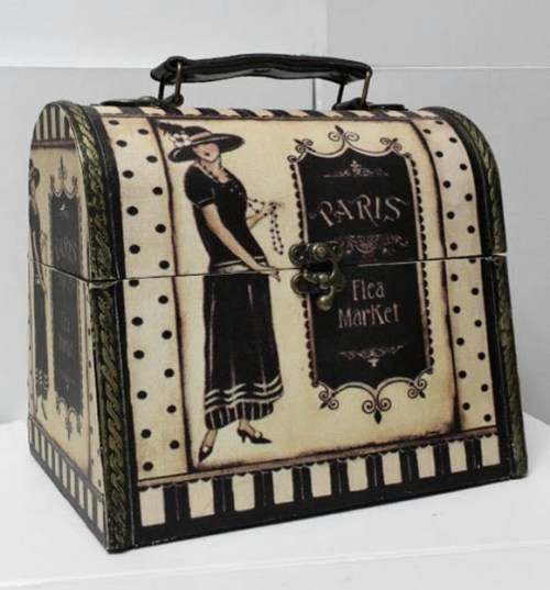 Vintage Paris Dome Gift Box