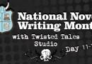 NaNoWriMo Day 11-15