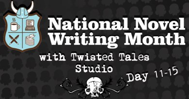 NaNoWriMo Day 11-15