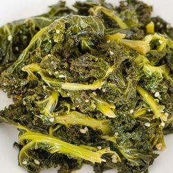 Kale Greens and Garlic   Twisted Tastes