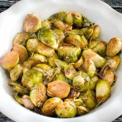 Brussel Sprouts with Rosemary and Shallots | Twisted Tastes