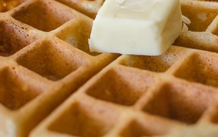 Crispy Cinnamon Waffles | Twisted Tastes