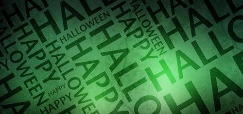 Happy Happy Halloween Halloween Green Wallpaper