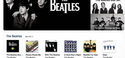 Beatles in iTunes