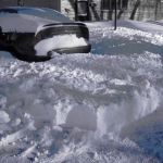 My car is still snowed in.