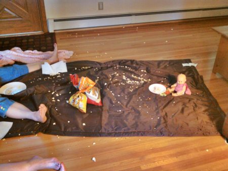 Indoor Picnic Mess