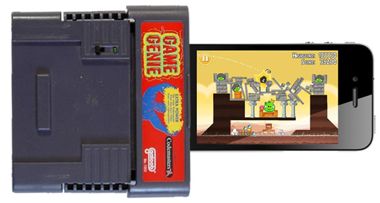 Game Genie cheat codes for Angry Birds