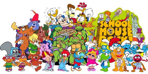 80s 90s Childhood Cartoons