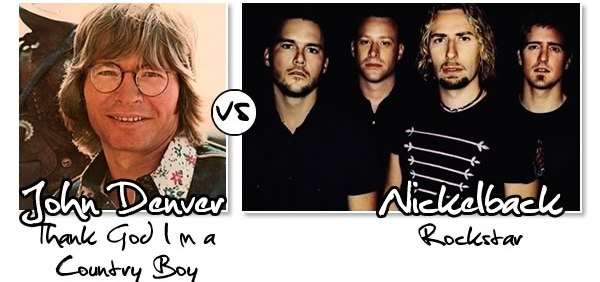 Country Boy vs Rockstar
