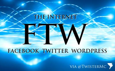 Facebook Twitter WordPress
