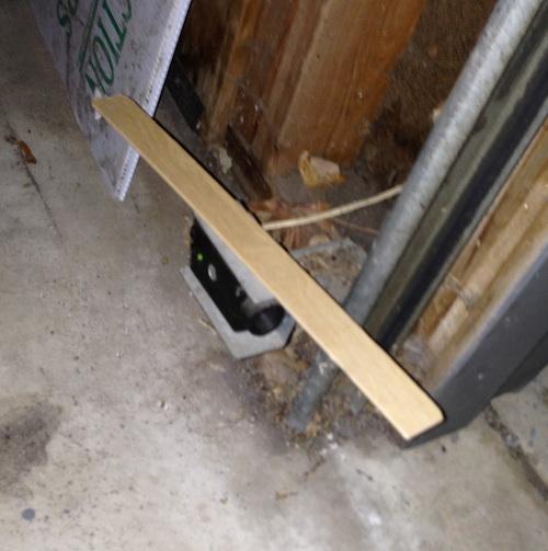 Fix Garage Door Sensor