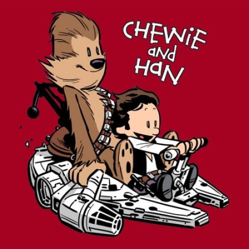 Chewy and Han - StarWars
