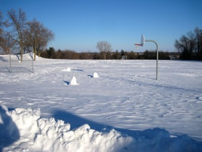 Snowman Basketball