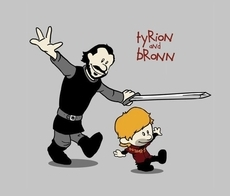 Tyrion and Bronn- Game of Thrones
