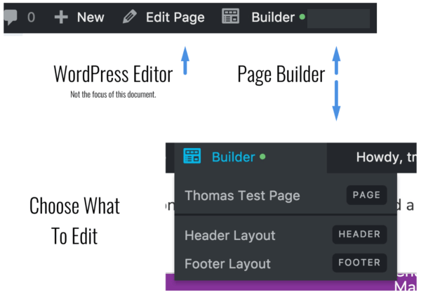 Pointing out difference in editors.