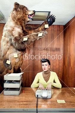 Post-it bear