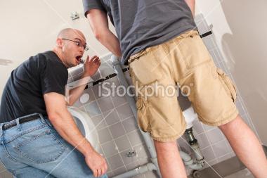 Mens Bathroom Size up