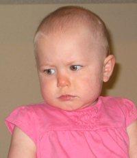 Unhappy Look