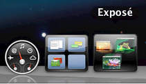 Expose & Spaces Dock Icons