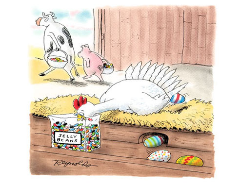 Where Easter Eggs Come From