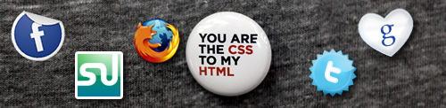Web Geek Buttons